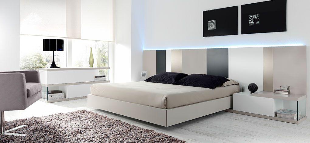 Dormitorio tricolor tu tienda de muebles en murcia - Muebles anticrisis murcia ...