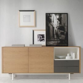 Aparador para almacenamiento singular, bien como aparador, mueble de tv o cualquier auxiliar